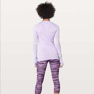 lululemon athletica Tops - Swiftly Tech Long Sleeve Crew - Sheer Violet